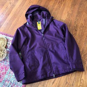 Under armour Purple coldgear infrared jacket